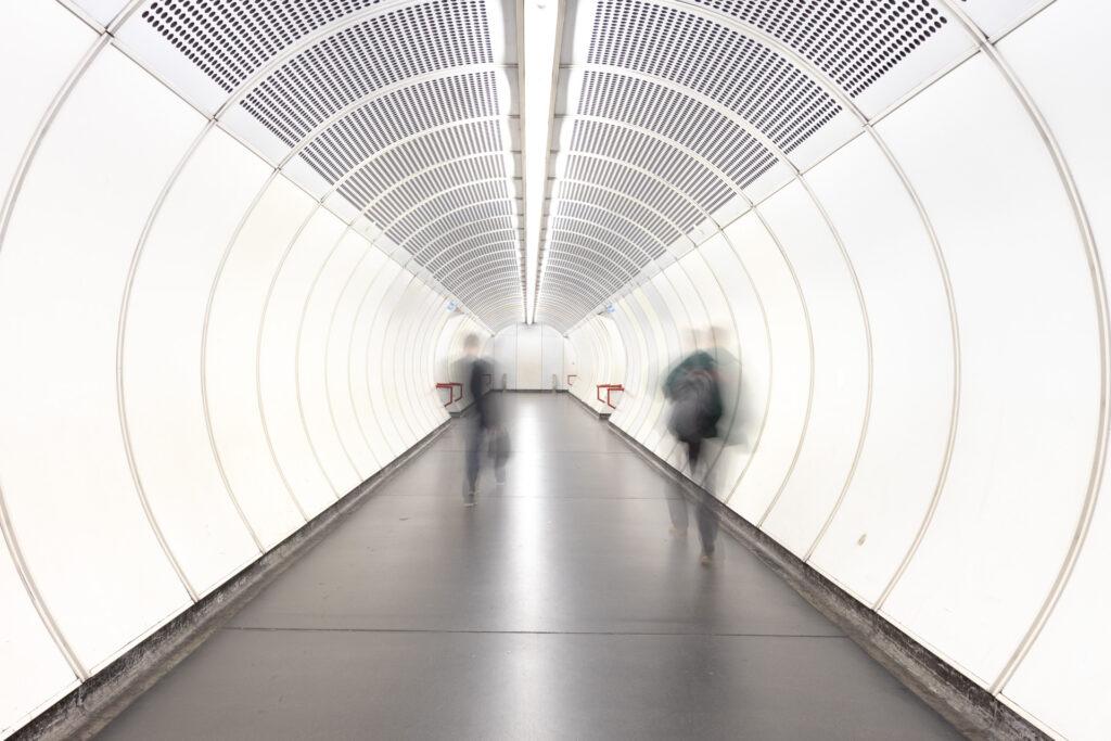 Estación de metro, Viena